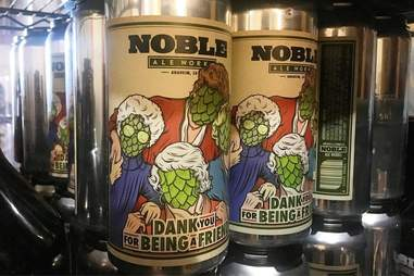 Beer at Noble Ale Works in California