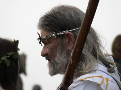 Druid Leader King Arthur Pendragon