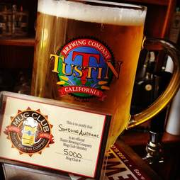 Beer at the Tustin Brewing Company