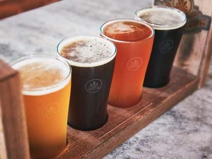 Southerleigh beer flight