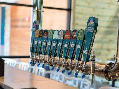 grapevine craft brewery tap selection