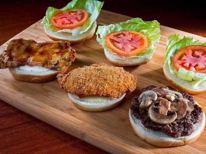 Burgers at Zippy's in Hawaii