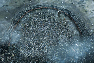 The pincer move in the Battle of the Bastards as the Boltons started winning against the Wildlings
