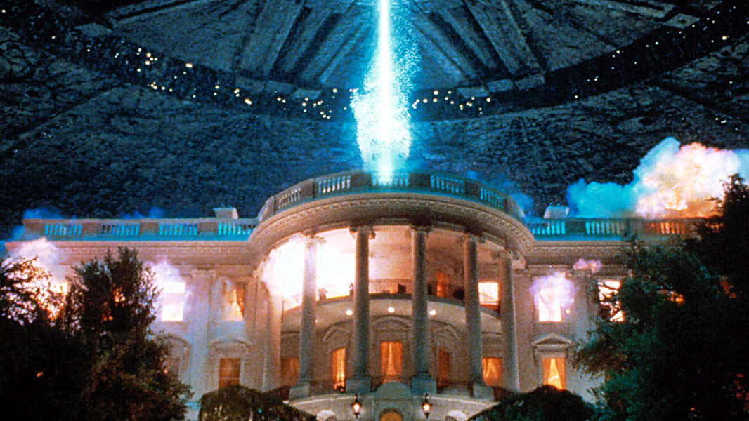 16 90s Sci-FI Movies That Were Mostly Forgettable But Are Still Loved By Many Iconic White House Explosion Scene in Independence Day - Thrillist