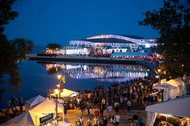 Summerfest in Milwaukee