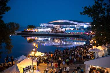 Summerfest in Milwaukee