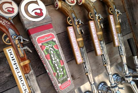 goliad brewing company on tap