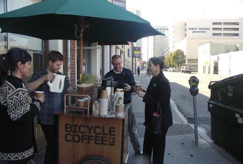 bicycle coffee