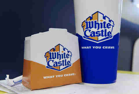 White Castle packaging