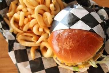 Burger at Parts and Labor Chicago