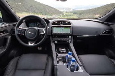 2017 Jaguar F Pace Interior