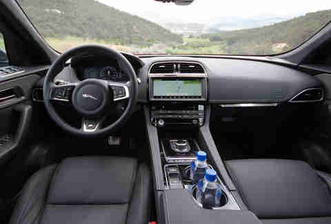 2017 Jaguar F Pace Interior