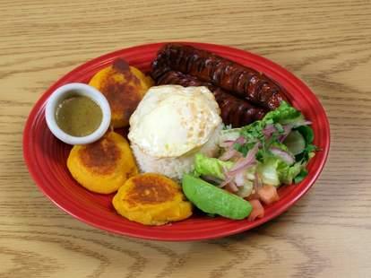 Dinner at Chimborazo