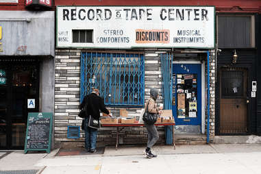 Fifth Avenue records and tapes