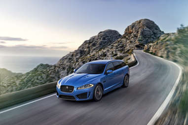 The Jaguar XFR-S Sportbrake is not sold in the US