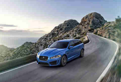 The Jaguar XFR-S Sportbrake is not sold in the US