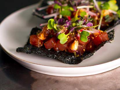 Seafood at Liholiho in San Francisco
