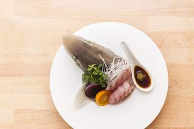 Fish head dish at Ichido in San Francisco