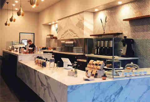 Holsem Coffee counter