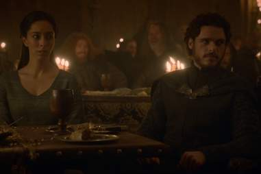 Red Wedding Photo