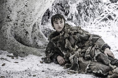 Isaac Hempstead Wright as Bran Stark in Game of Thrones season finale The Winds of Winter