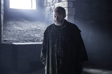 Liam Cunningham as Davos Seaworth in Game of Thrones season finale The Winds of Winter