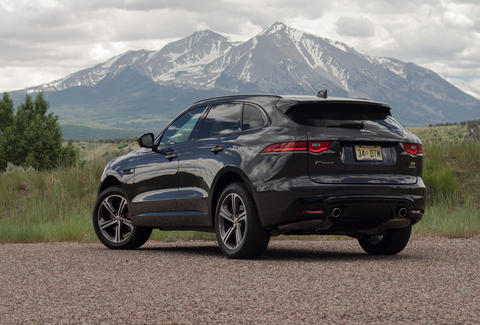 The 2017 Jaguar F-Pace