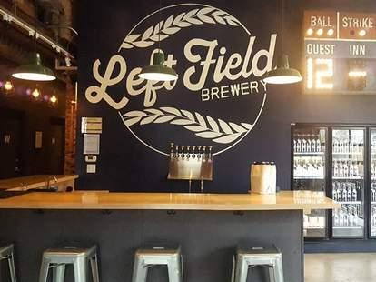 Left Field Brewery in Toronto