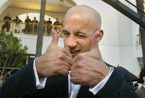 Vin Diesel, Facts, Trivia