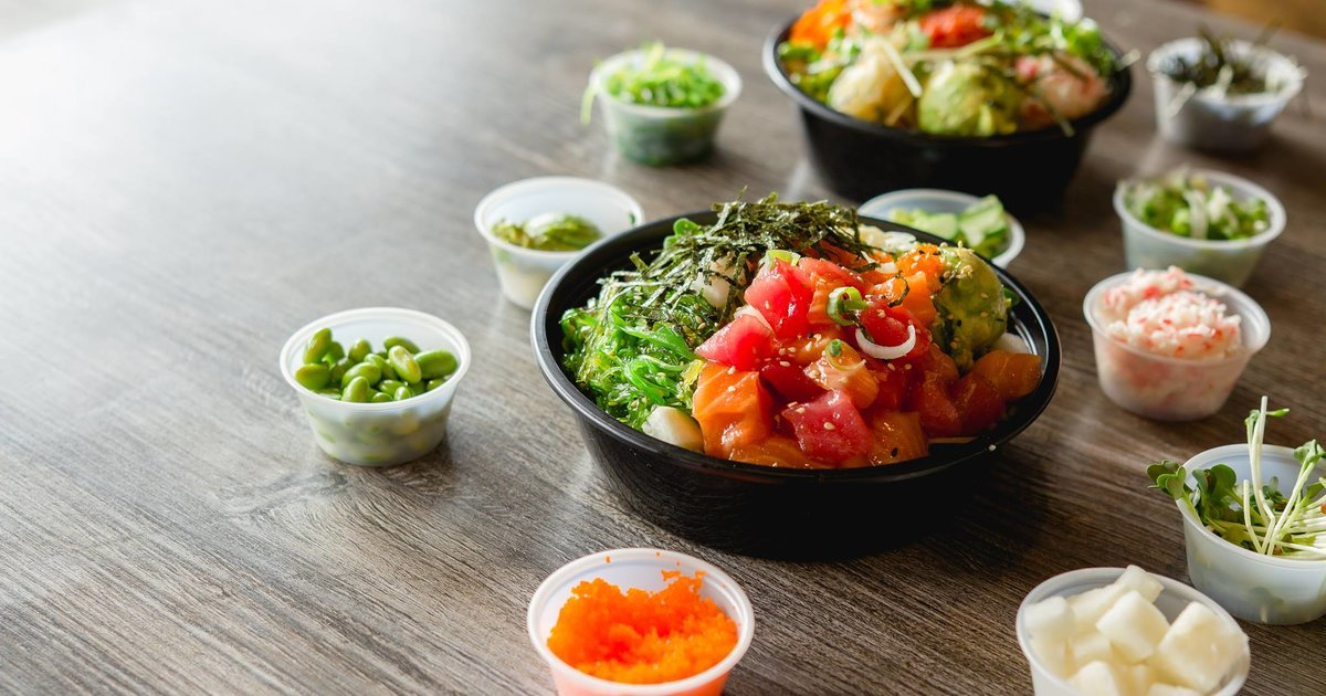 best poke bowl restaurants in los angeles california. Black Bedroom Furniture Sets. Home Design Ideas