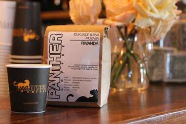 Coffee at Panther Coffee