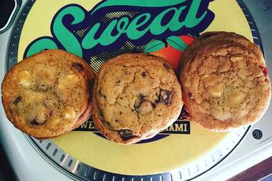 Cookies at Sweat Records
