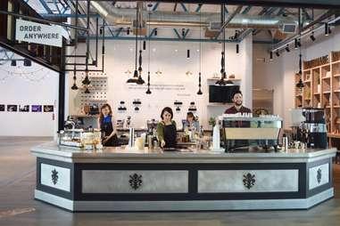 La Marzocco cafe in Seattle