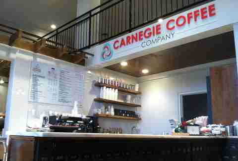 Carnegie Coffee in Pittsburgh