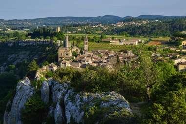 Aigueze, France
