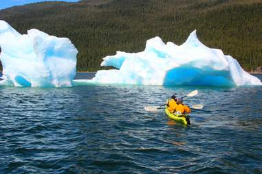Kayaking in Alaska