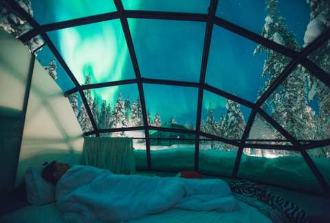 Great Northern Lights Igloo Design Inspirations