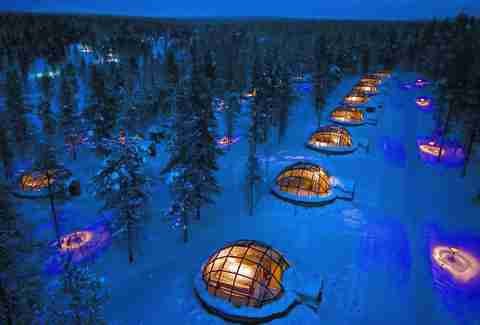 Northern Lights Igloo