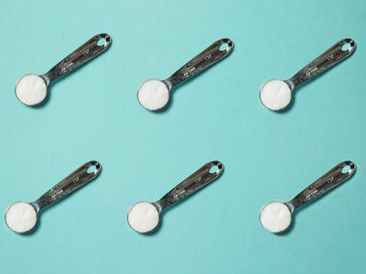 Salt measurement spoons