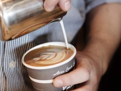 stone creek coffee barista