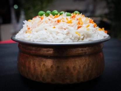 Indian rice at Hungry Bird