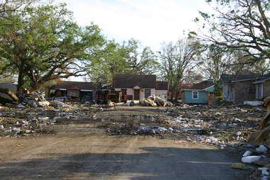 Gulfport Katrina Damage