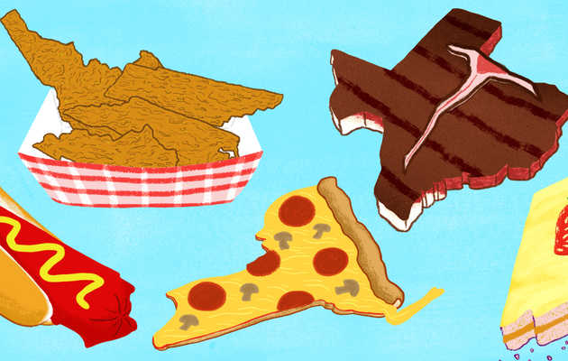 Ranking All 50 States, by How Fun They Are to Get Fat In