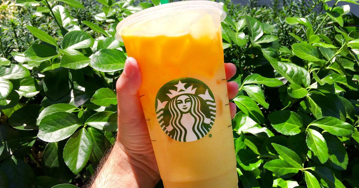 starbucks u0026 39  new  u0026 39 orange drink u0026 39  is crazy and beautiful