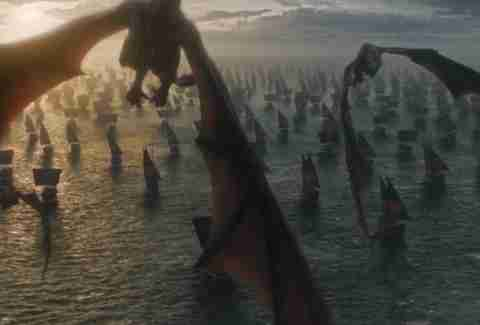 dragons game of thrones finale