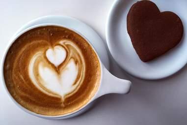 Latte at Atomic Coffee