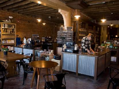Germack Coffee Roasting Company in Detroit