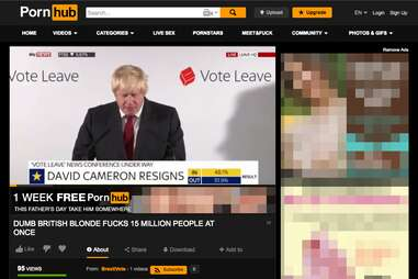 Boris Johnson Pornhub