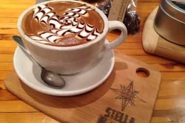 Mocha at Stella Good Coffee