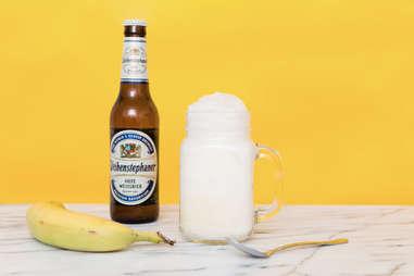 banana ice cream float